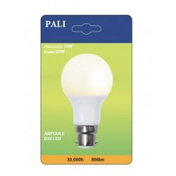 AMPOULE LED PALI B22 10W/60W X1