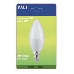 AMPOULE LED PALI E14 5,5W/40W X1