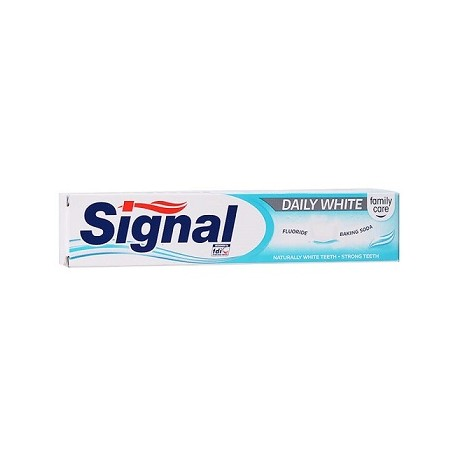 SIGNAL DENTIFRICE 75ML DAILY WHITE