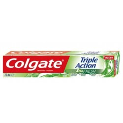 COLGATE DENTIFRICE 75ML TRIPLE ACTION XTRA FRESH