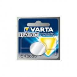 PILE VARTA LITHIUM CR2025 3V